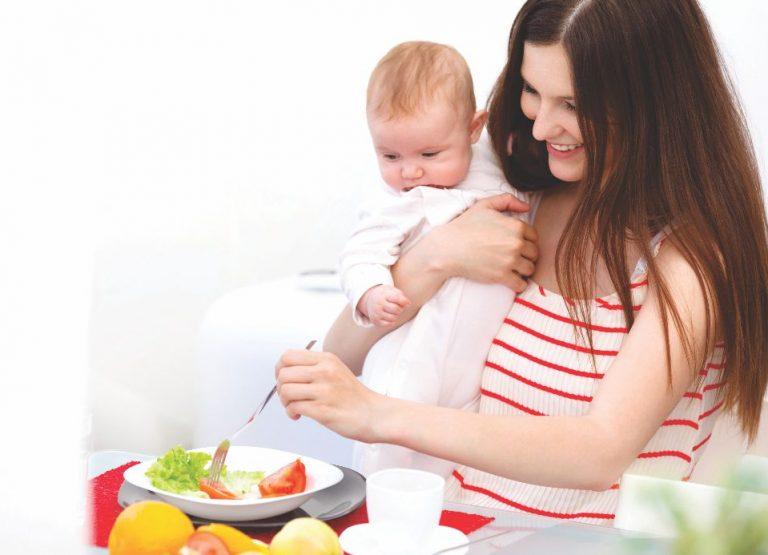 Beberapa Petunjuk Tentang Pola Makan untuk Ibu Menyusui